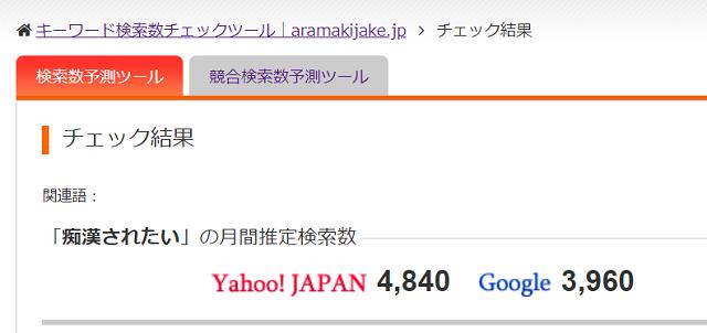 aramakijakeのデータの一部